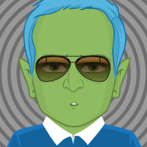 Alien guy avatar