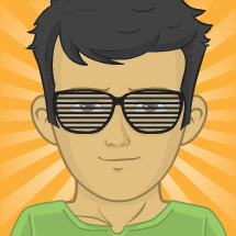 The cool guy avatar